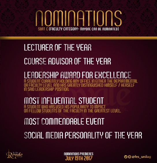 The Fes Dinner And Awards 8TH Edition Themed La Vie Royale