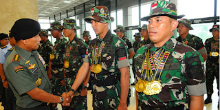 Indonesia TNI AD Pecundangi Australia Dan Amerika