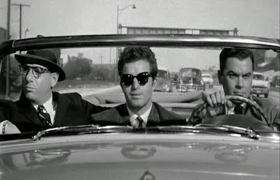 Herschel Bernardi, Vince Edwards, Phillip Pine, Murder by Contract (1958)