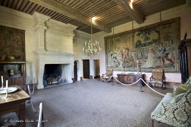 Salón Château de Losse - Dordoña Perigord por El Guisante Verde Project