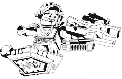 Gambar Mewarnai Lego - 5