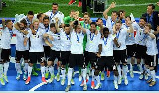 FÚTBOL (Copa Confederaciones 2017) - Los campeones del mundo conquistan su primera Copa Confederaciones con una selección repleta de jóvenes alemanes
