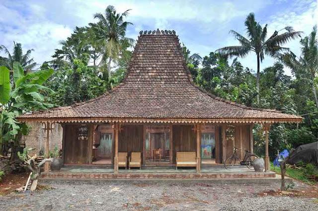 rumah adat joglo budaya asli jawa tengah