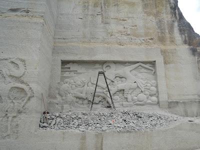 Relief wayang tebing breksi