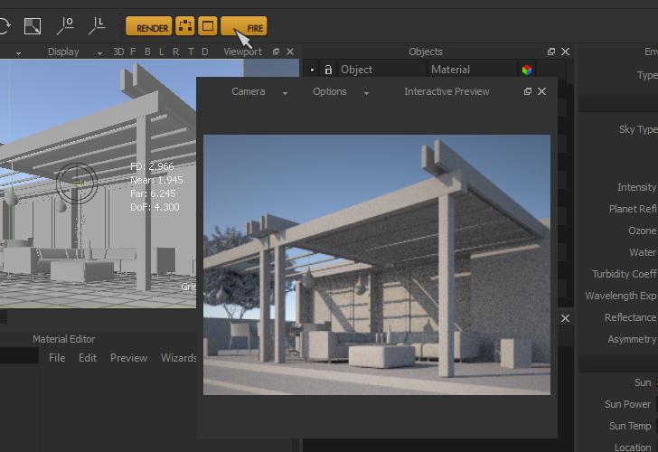 Maxwell render 2 7 guida per rendering realistici for Programmi rendering 3d