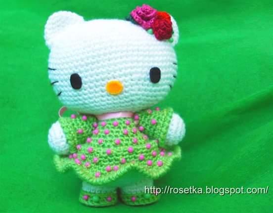 Amigurumi Schemi Hello Kitty Gratis : Tutorial #121: Amigurumis