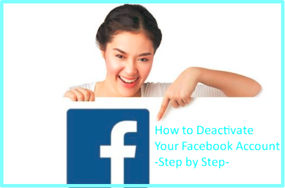 How To Disable My Facebook Account Temporarily