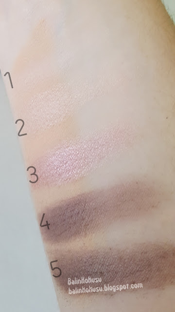 HM far paleti swatch