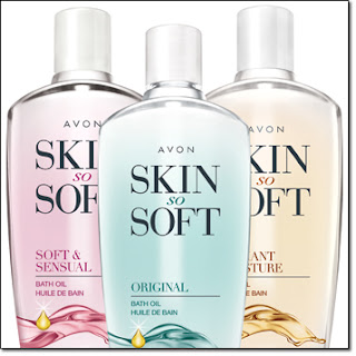 Avon Skin So Soft Bath Oils