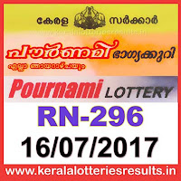 keralalotteries, kerala lottery, keralalotteryresult, kerala lottery result, kerala lottery result live, kerala lottery results, kerala lottery today, kerala lottery result today, kerala lottery results today, today kerala lottery result, kerala lottery result 16-07-2017, pournami lottery rn 296, pournami lottery, pournami lottery today result, pournami lottery result yesterday, pournami lottery rn296, pournami lottery 16.7.2017