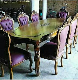 meja makan kursi jok