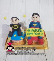 Cupcake Ulang Tahun Tema SUPERMAN