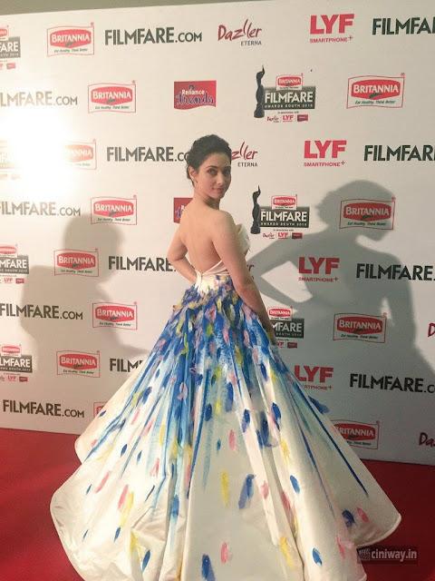 Tamanna Stills at Britannia Filmfare Awards 2016