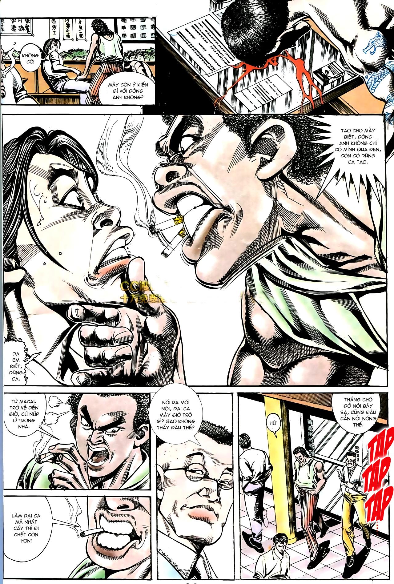 Người Trong Giang Hồ chapter 178: bối cảnh quạ đen trang 19