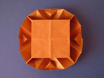 origami Scatola Sfaccettata - Faceted box by Francesco Guarnieri