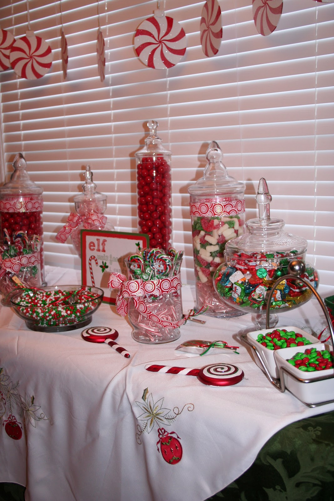 Classic Events By Kris: Christmas Candy Buffet