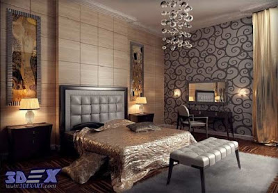 art deco style, art deco interior design, modern art deco bedroom decor and furniture