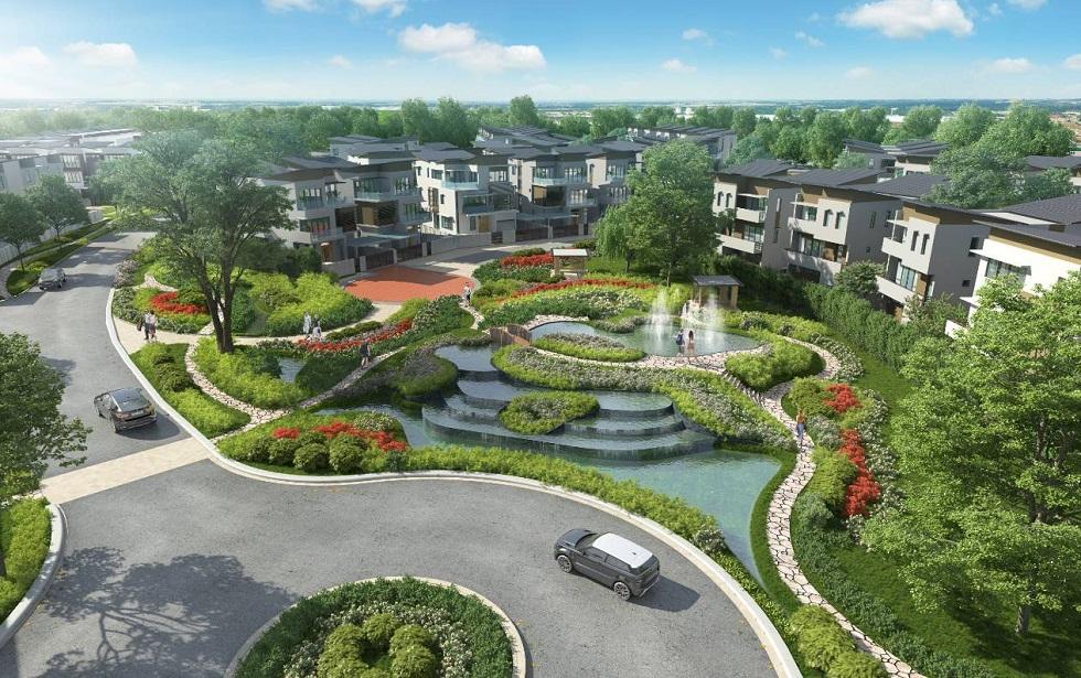 Kiến trúc khu mới có nhiều thay đổi so với khu Botanic của Gamuda