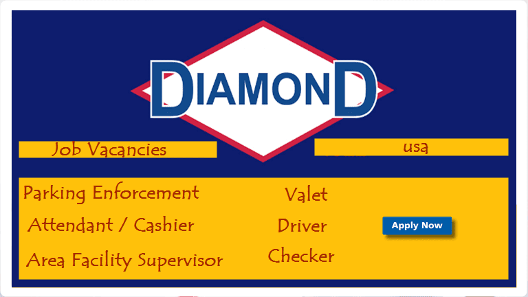 Job vacancies at diamond parking usa - worldswin | Find