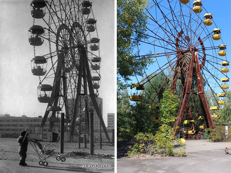 30 Yılın Ardından Çernobilin Yeni Fotoğraflar
