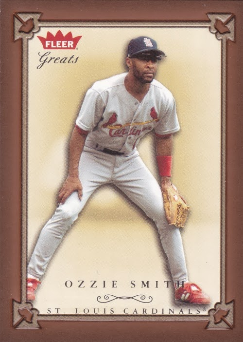 Cards On Cards Up For Grabs Cardinalpalooza Ozzie Smith