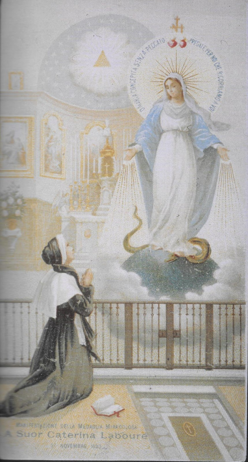 Risultati immagini per apparizioni a santa caterina labourè