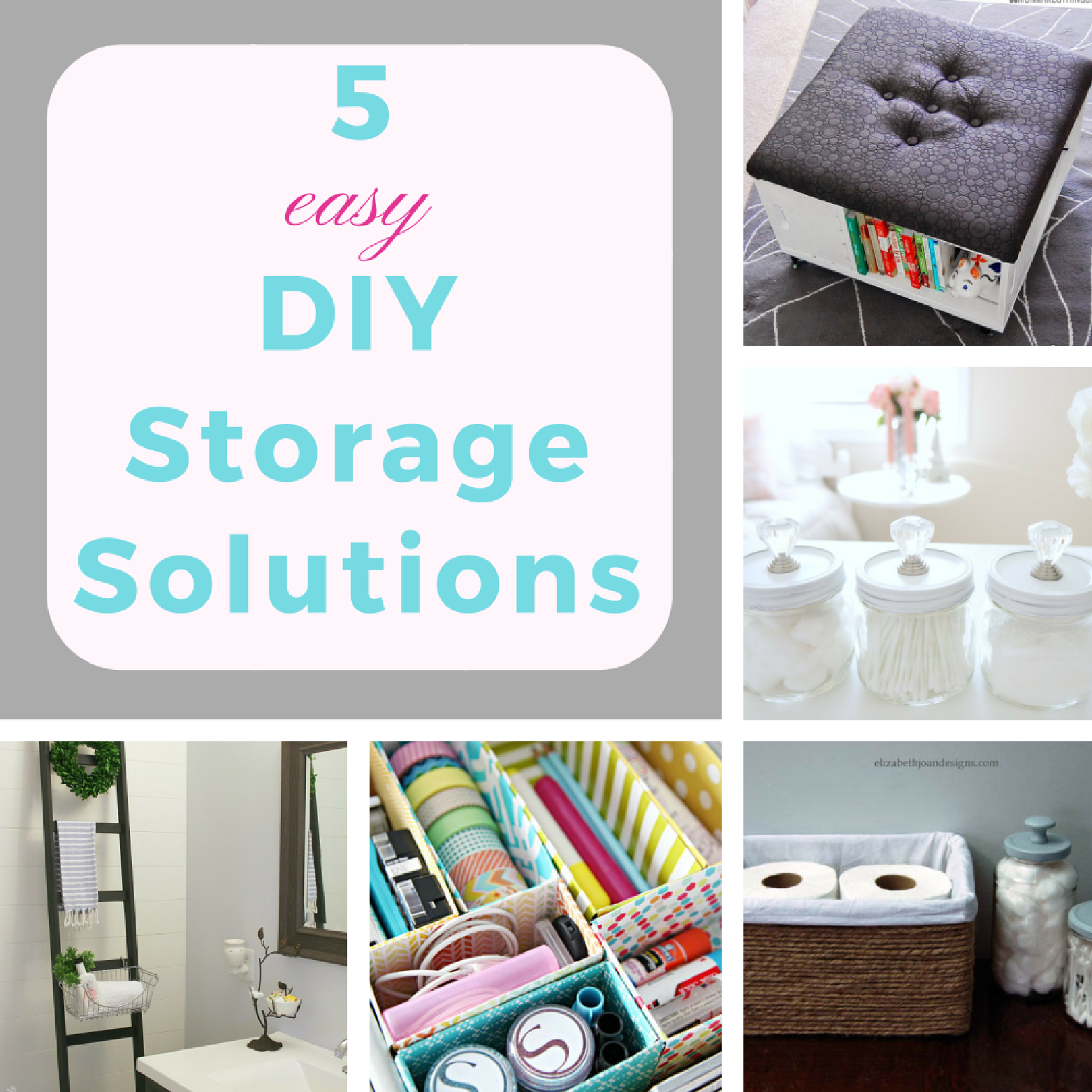 5 Easy Diy Storage Solutions Keeping It Real