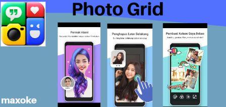 aplikasi edit foto dengan photogrid