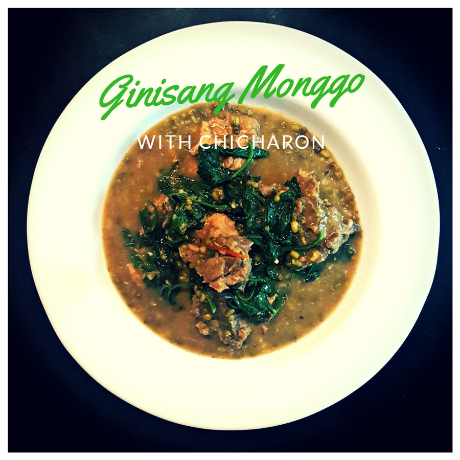 ginisang monggo with chicharon jeepney recipes