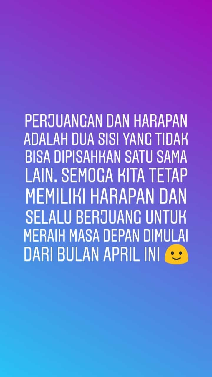caption bulan april