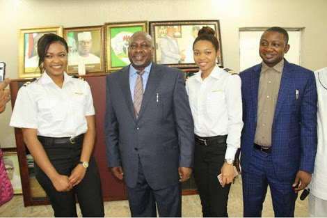 Photos: Two Nigerian Sisters Who Are Pilots