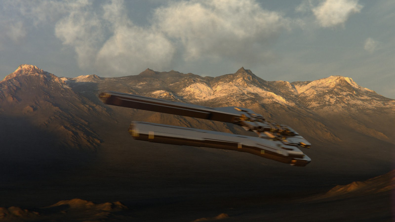 Env matte painting for Matte painting