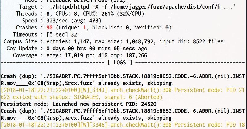 Fuzzing TCP servers