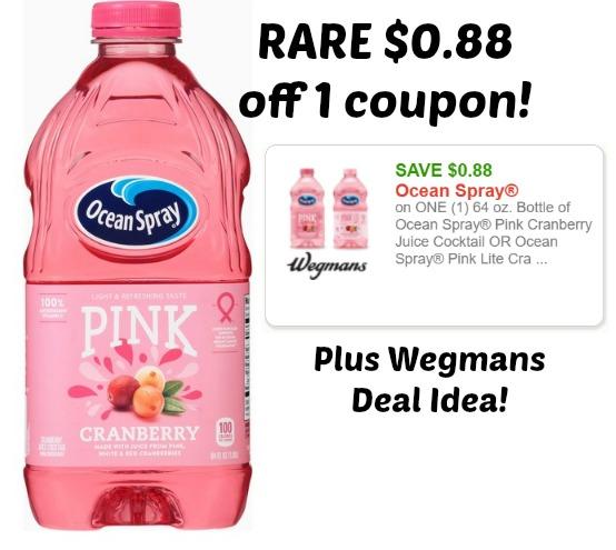 ocean spray juice coupons 2019