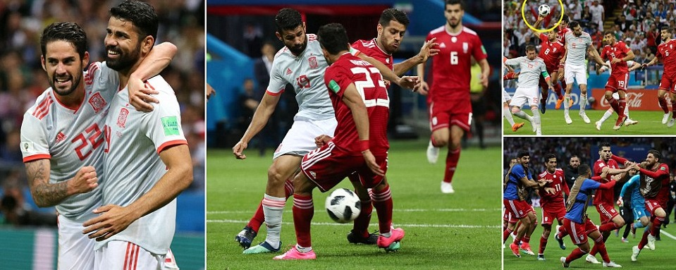 Match Preview  Spain s game against Morocco will be played at the same time  when Portugal vs Iran kicks off at around 7 00 p.m uk time at the  Kaliningrad ... 0bba7705d57b1