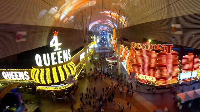 Tirolesa SlotZilla em Las Vegas
