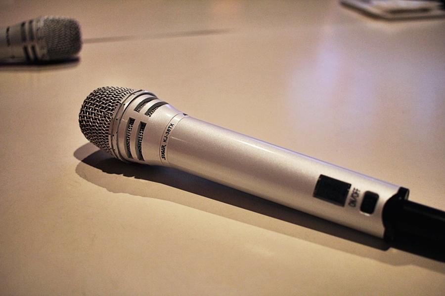 jaoan karaoke singen mikrofon