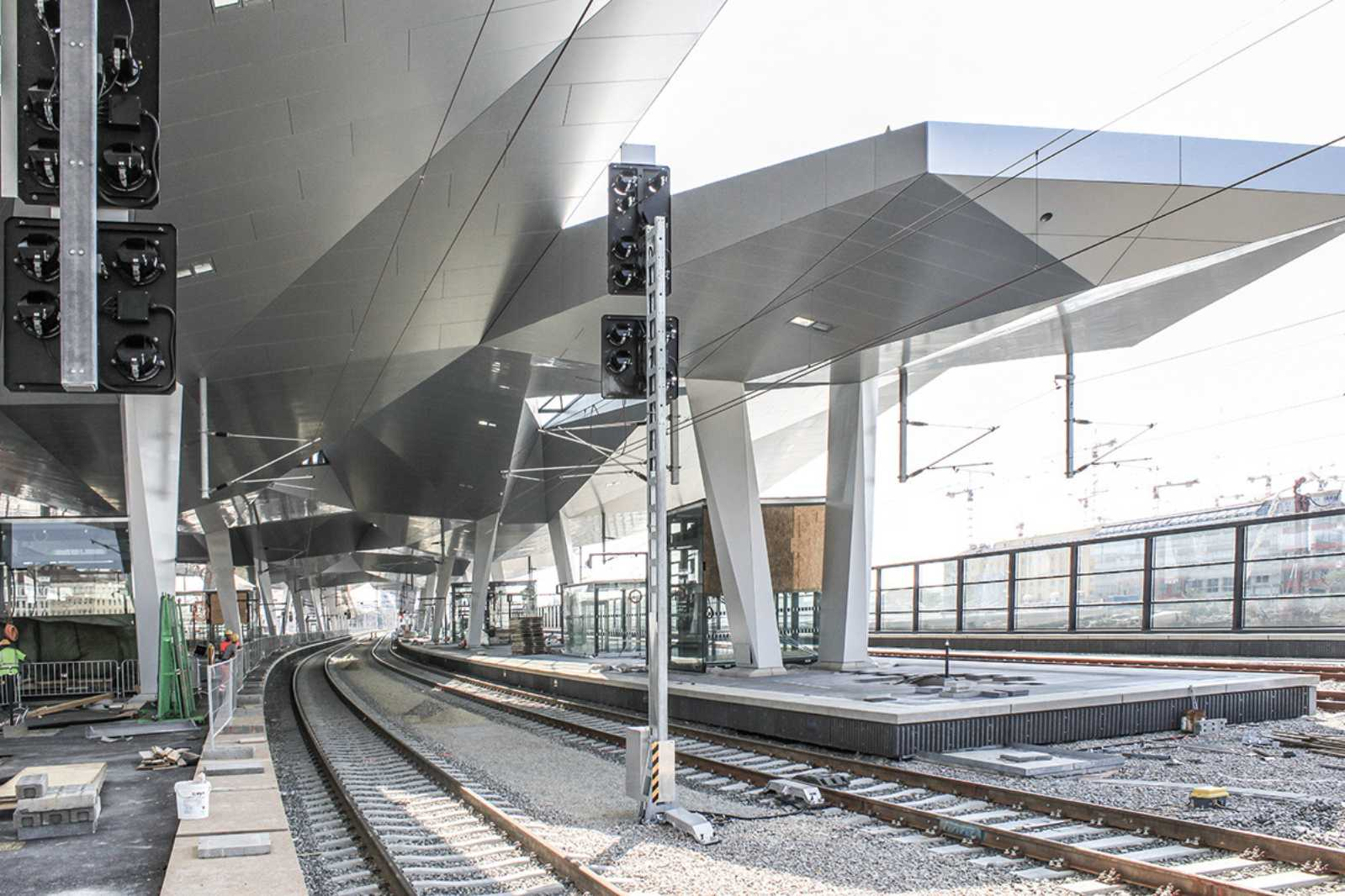 Vienna Central Station By Theo Hotz Aasarchitecture