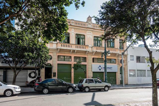 Sobrado na Rua Barão do Rio Branco