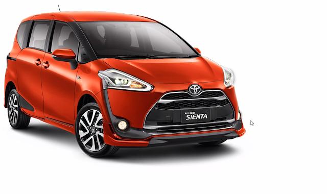 Booking Cukup Rp 5 Juta Anda Akan Mendapatkan Mobil Toyota Sienta