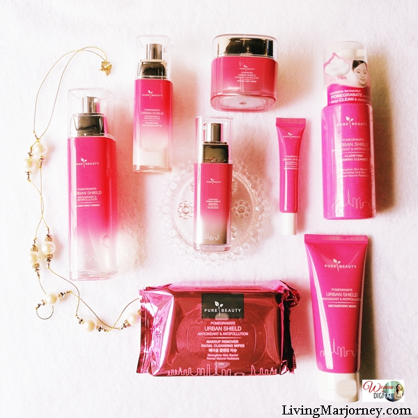 8 Step Korean Skin Care with Pure Beauty Pomegranate Urban Shield
