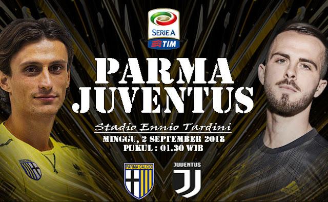 Jadwal Siaran Langsung Live Beinsport 2 Parma vs Juventus Liga Italia