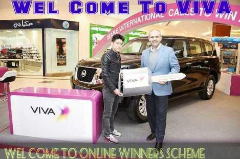 Viva Lucky Winners