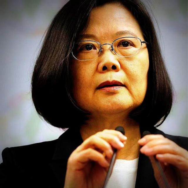 La presidenta de Taiwan pide apoyo internacional frente a China