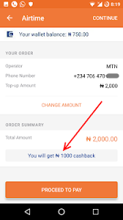 How To Get 50% Bonus On Recharge By Using Jumia One App