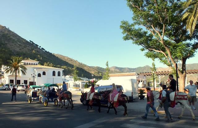 Mijas un pueblo típico andaluz