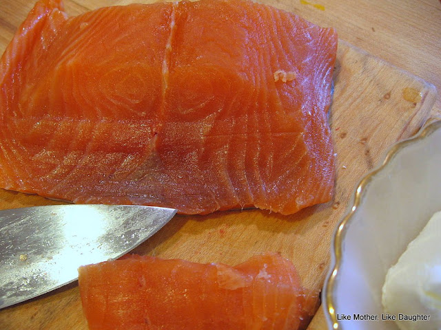 cured salmon at home