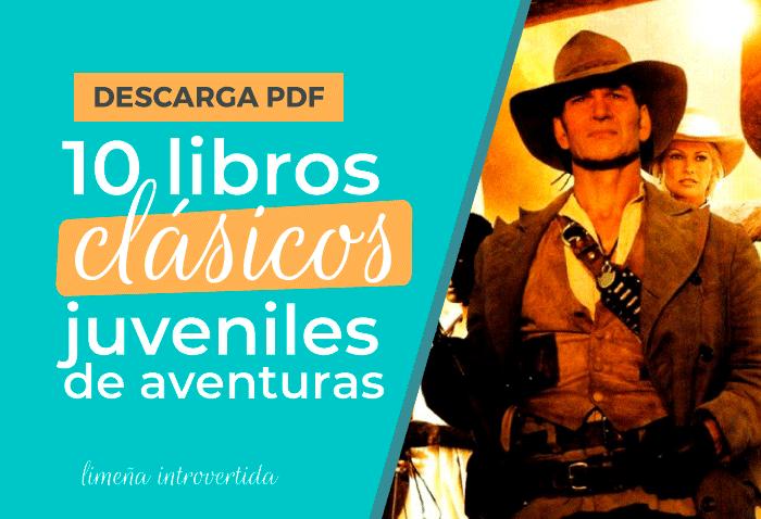 10 libros clásicos juveniles de aventuras para descargar en pdf