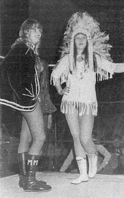 Cherokee Princess - Mitzi Mueller - british women's professional wrestling