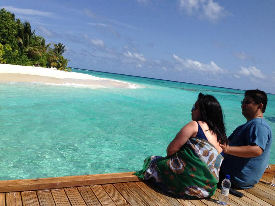 My Husband And I Spent Our 20th Wedding Anniversary Staying In A Small Island The Maldives It Made Us Feel Like We Own